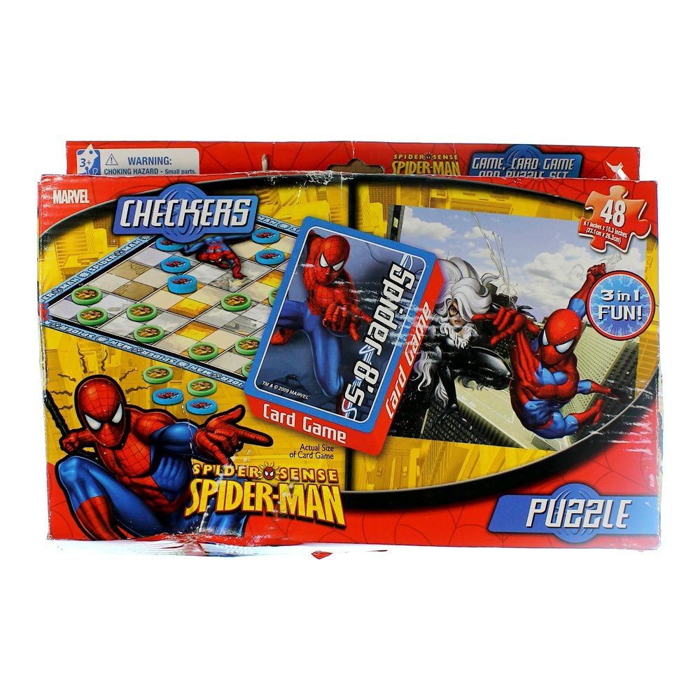 Spider-Man Game & Puzzle Pack 839054738