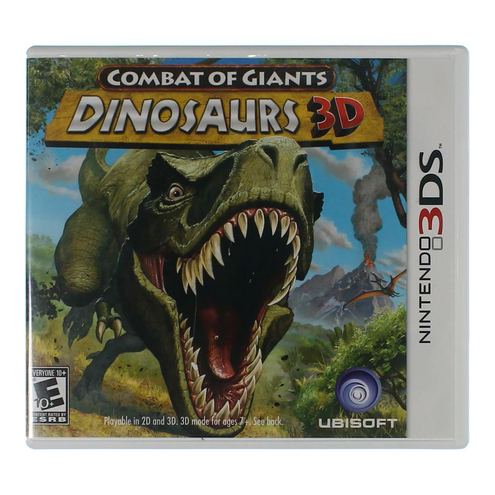 Image of Video Game: Combat of Giants Dinosaurs