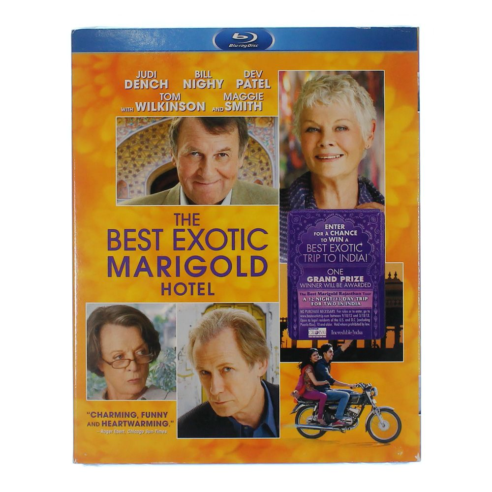 Movie: The Best Exotic Marigold Hotel 8457620779