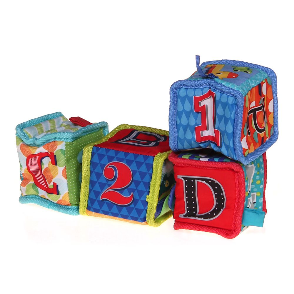 Image of Alphabet and Number Learning Blocks