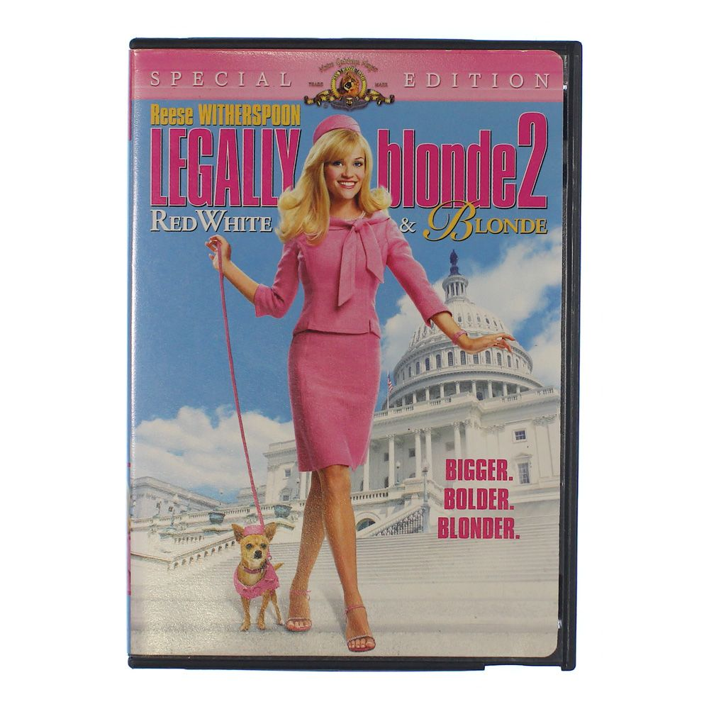 """""Movie: Legally Blonde 2: Red, White & Blonde"""""" 8531643577"