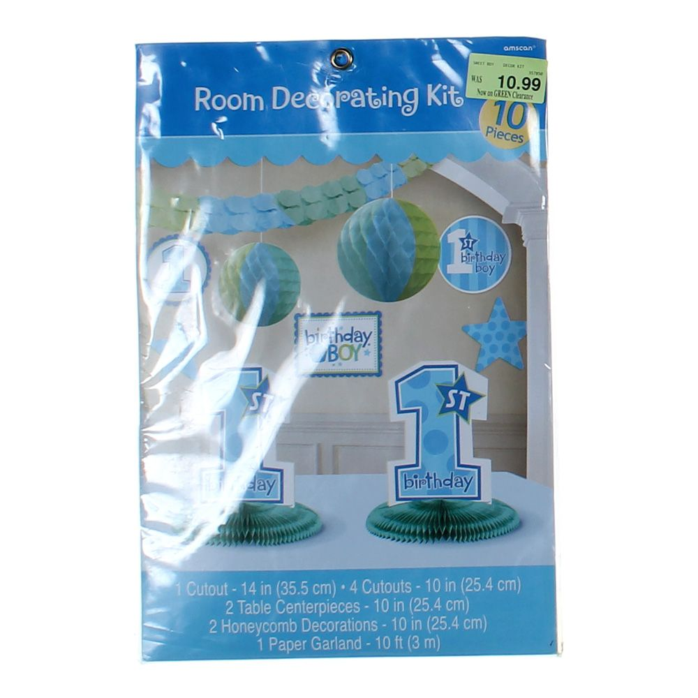 Image of 1st Birthday Boy Decorating Kit Party Accessory