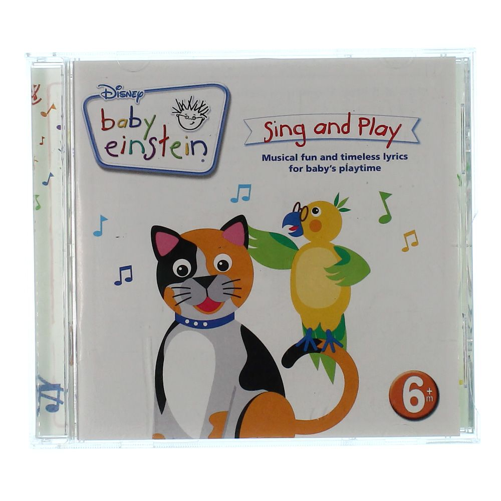 Image of CD: Baby Einstein Sing And Play