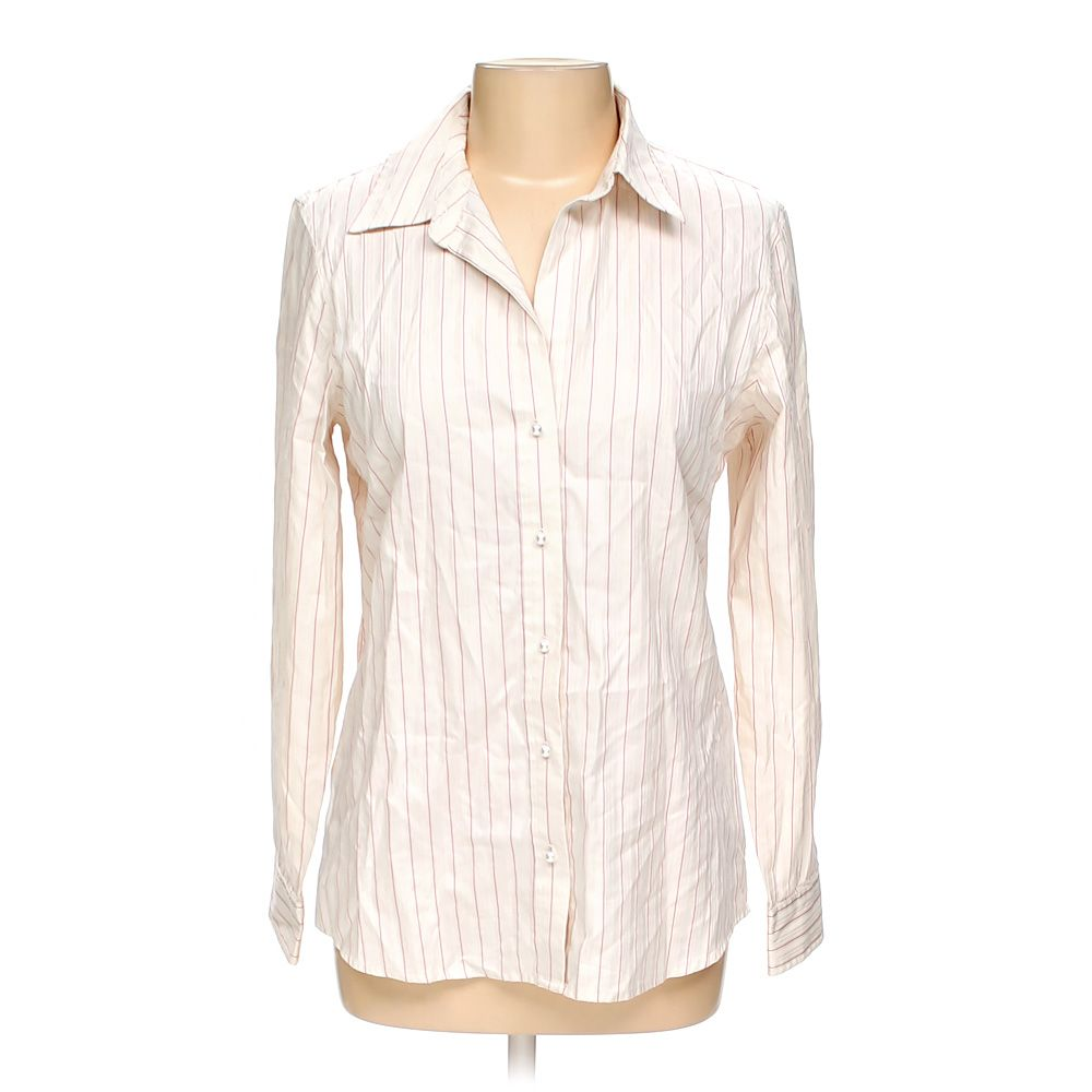"""""Button-up Long Sleeve Shirt, size L"""""" 8618394402"