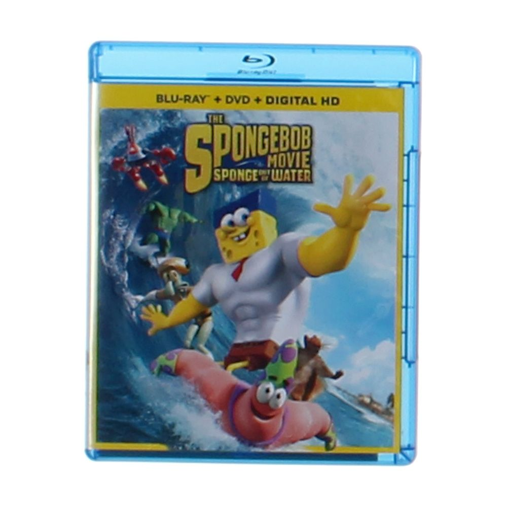 Movie: The SpongeBob Movie: Sponge out of Water Blue Ray 8621943285