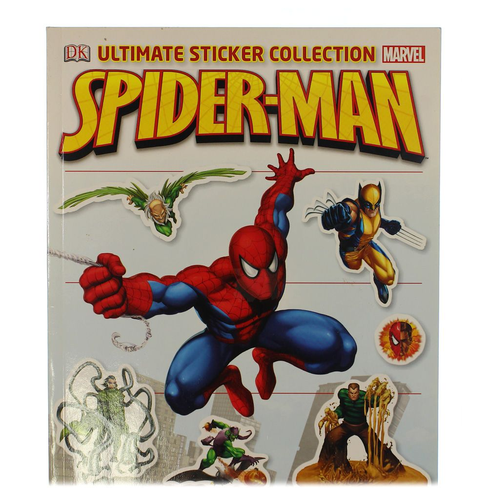 Book: Ultimate Sticker Collection Spiderman 8623314283