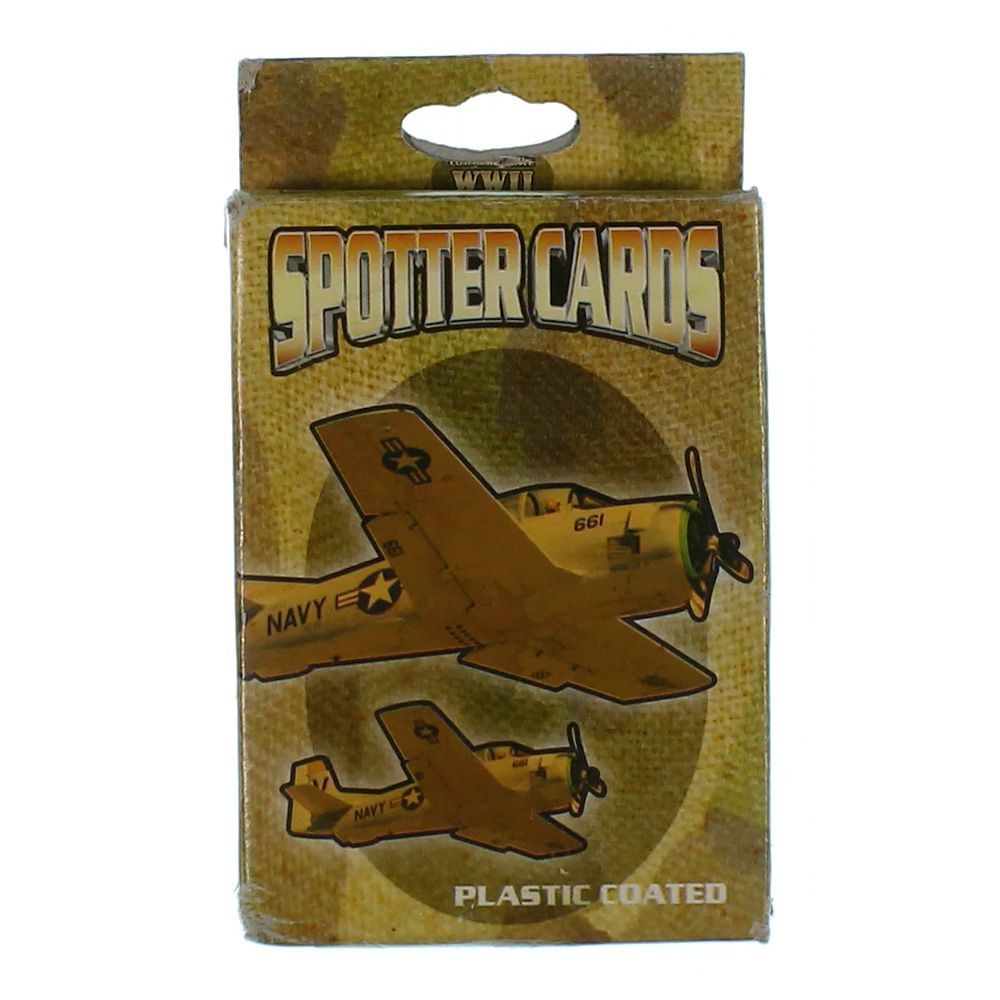 Image of Game: 577 WWII SPOTTER PLAYING CARDS ''CE''