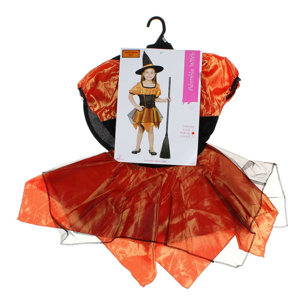 "Image of ""Adorable Witch Costume, size 8, 9, 10"""