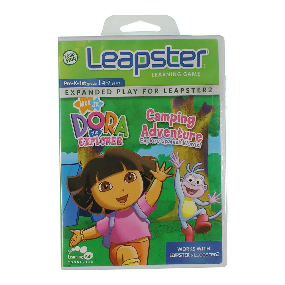 Image of Learning Game Dora's Camping Adventure
