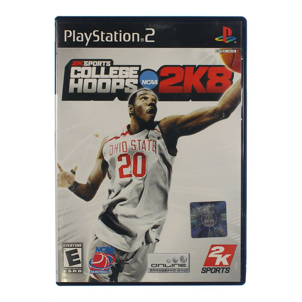"Image of ""Video Game: College Hoops 2K8 - PlayStation 2 [Disc, PlayStation 2]"""