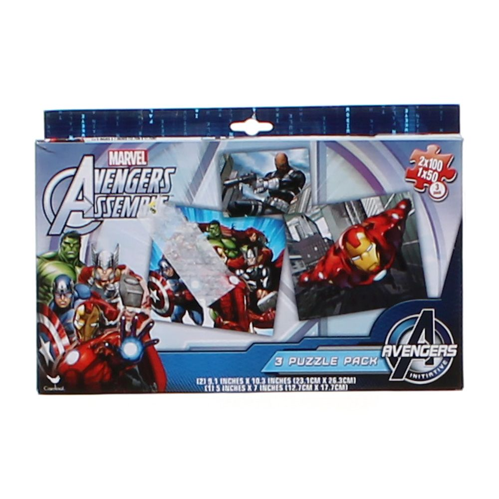 Avengers Puzzle Pack 876524144