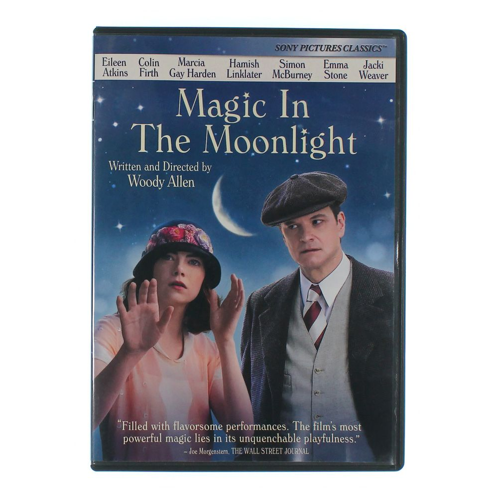 Movie: Magic in the Moonlight [Includes Digital Copy] [UltraViolet] [DVD] [2014] 8791123575