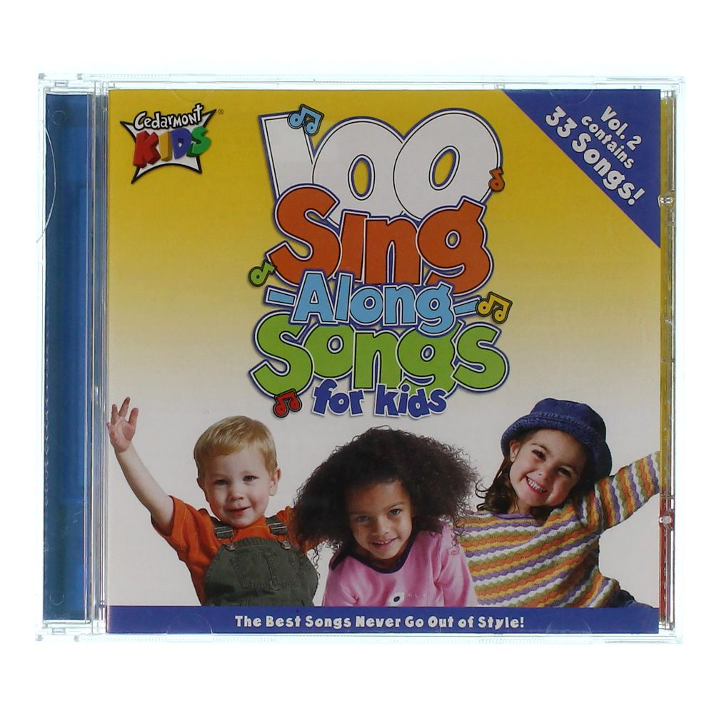 Image of CD: 100 Sing- Along- Songs For Kids