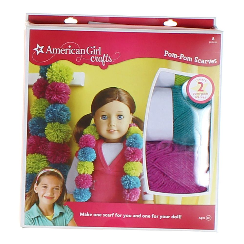 Image of American Girl Pom Pom Scarves Kit