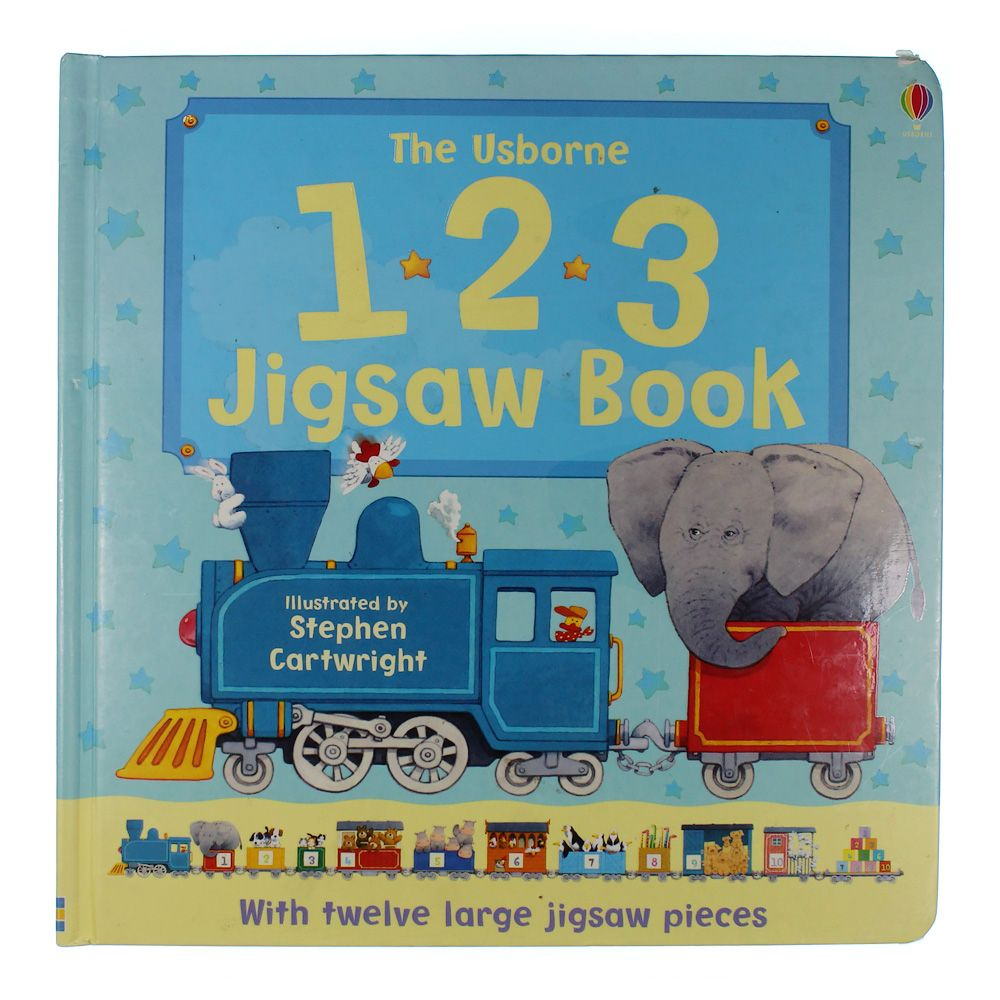 Image of 1*2*3 Jigsaw Book