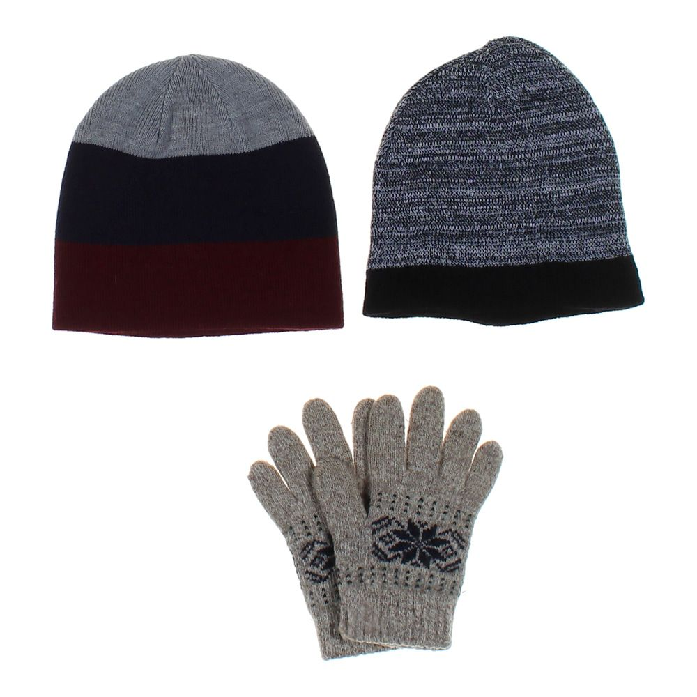 "Image of ""3 Pc Hat & Glove Set, size One Size"""