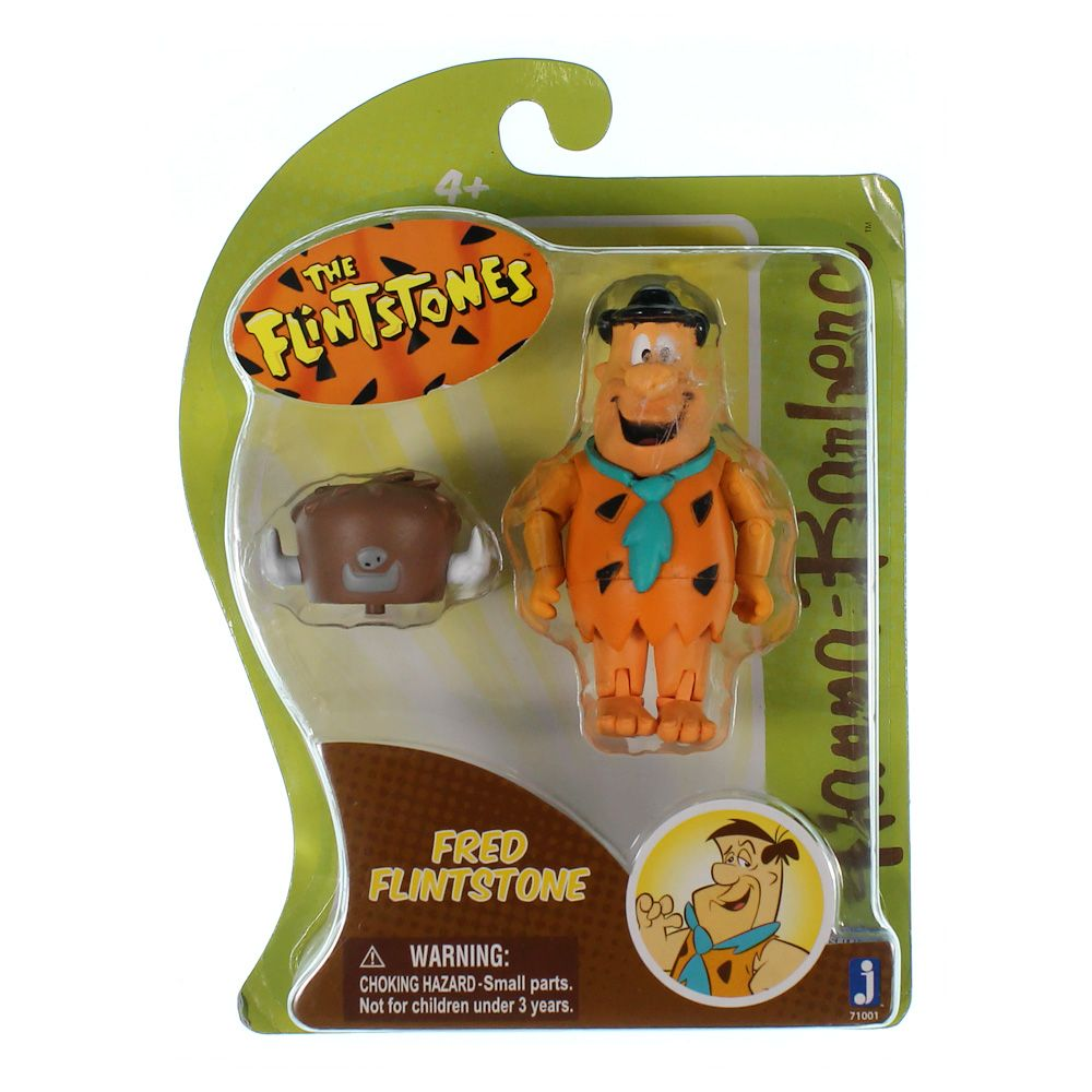 Fred Flintstone with Buffalo Hat Flintstones Hanna-Barbera 3 Inch Action Figure 9000644824