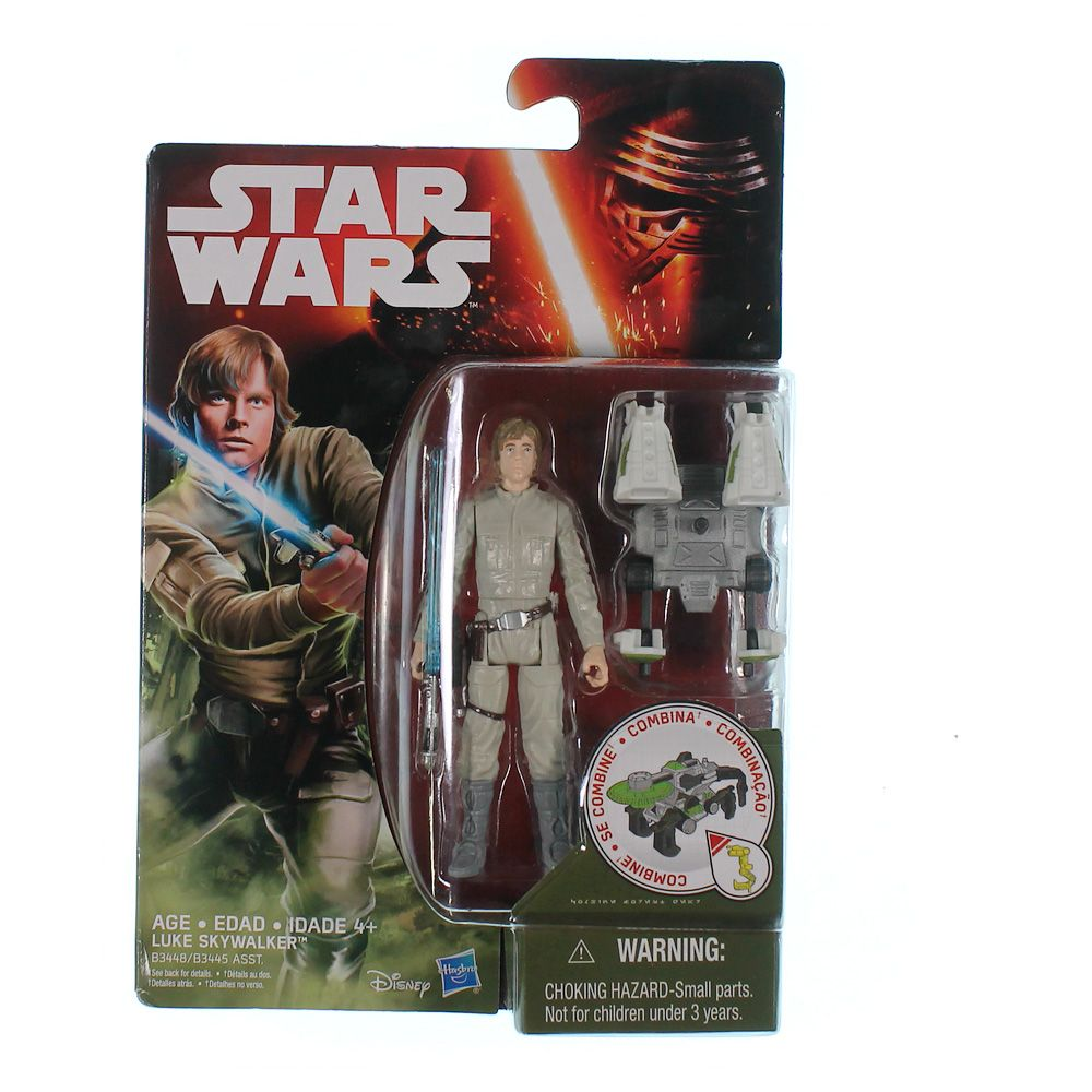 """""Star Wars The Empire Strikes Back 3.75"""""""" Figure Forest Mission Luke Skywalker Bespin"""""" 9037806238"