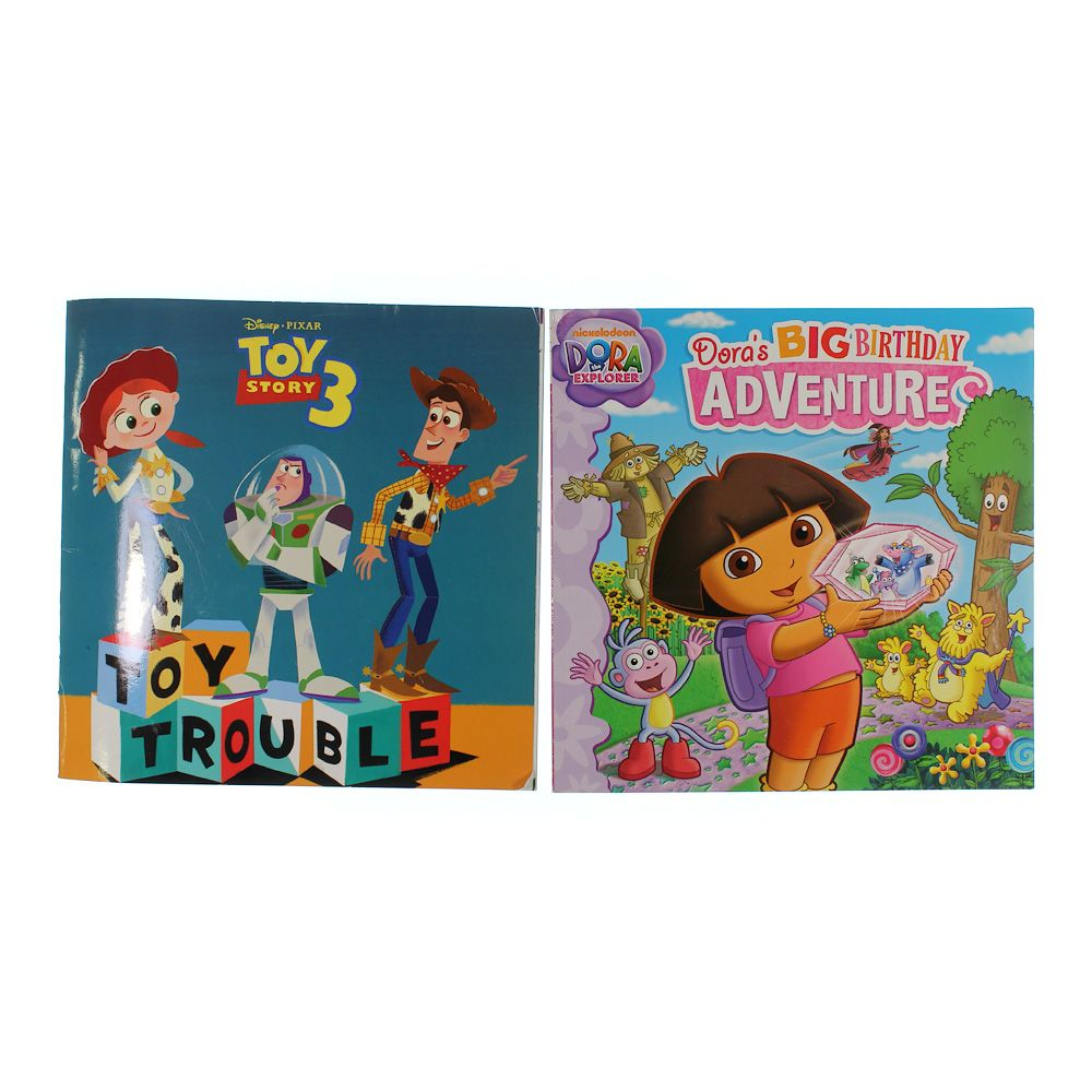 Books: Dora The Explorer & Toy Story 3 9071614877