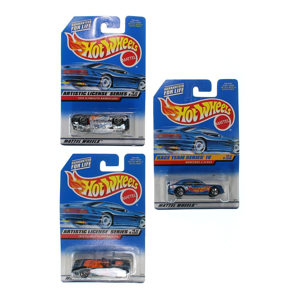 Image of 2000 First Editions Hot Wheels Set