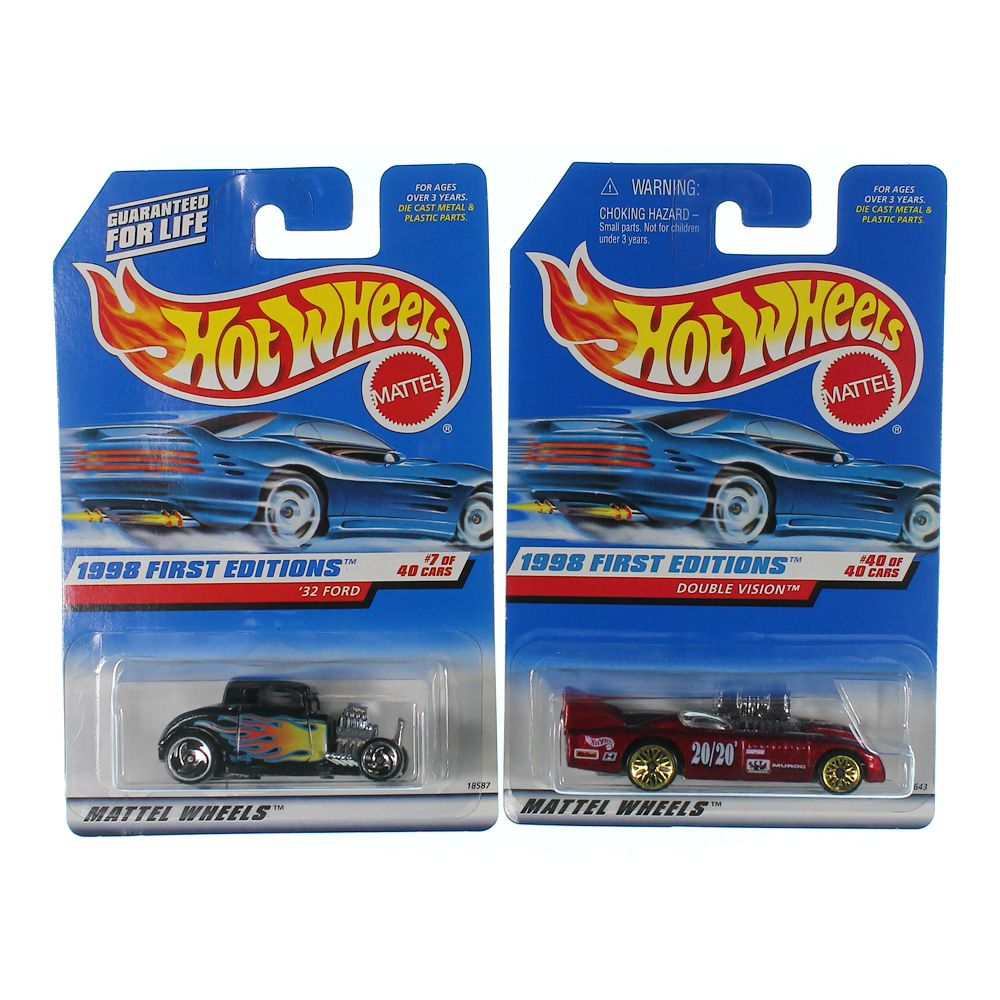 Image of 1998 First Edition Die-cast Car Set