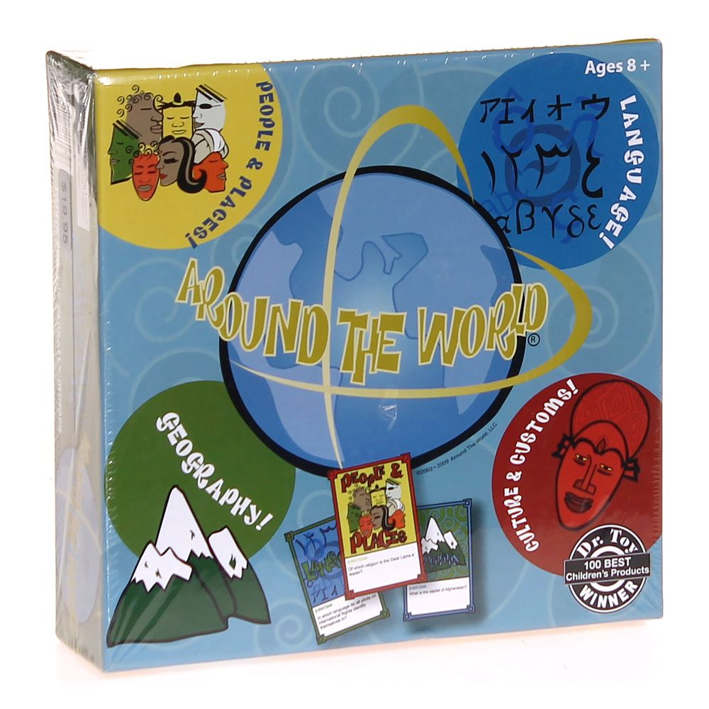 Image of Game: Around the World Boardgame