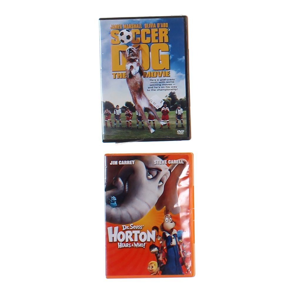 Set Of 2 Children Movies 9377602665