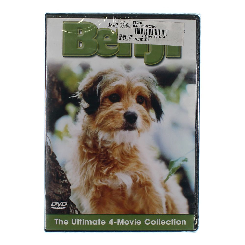 Movie: Benji: The Ultimate 4-Movie Collection 9414844294