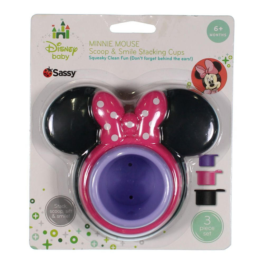 Minnie Mouse Scoop & Smile Stacking Cups 9546839417