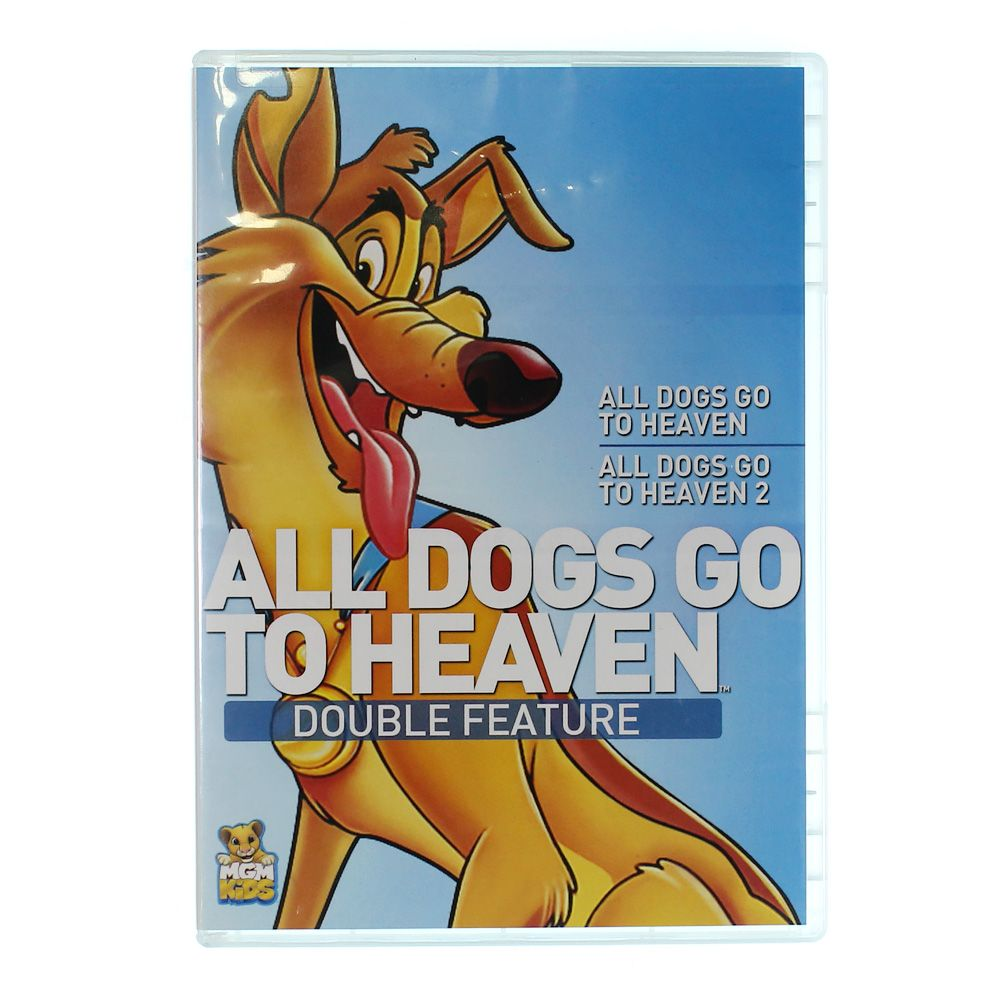 DVD:All Dogs Go to Heaven 1 / All Dogs Go to Heaven 2 9574815155