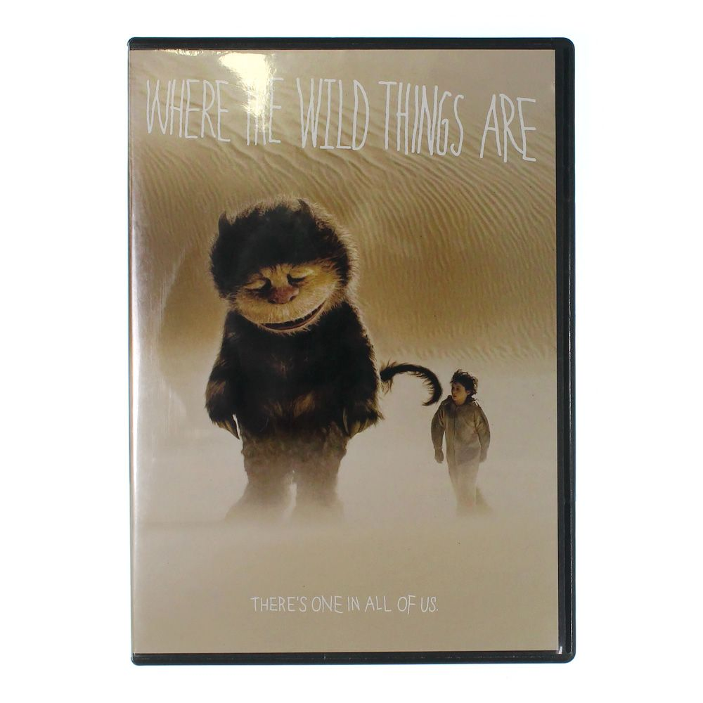 Movie: Where the Wild Things Are [DVD] [2009] 9576684618