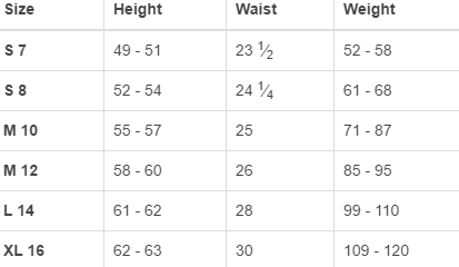 Land's End big girls' regular tops size chart