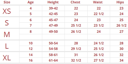 Kmart Toddler Shoes Size Chart