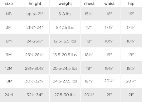 Okie Dokie Size Chart Swap Com The Largest Consignment And Jcpenney Sizing