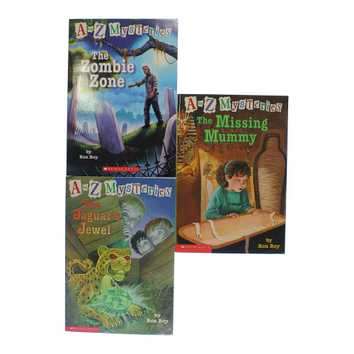 A To Z Mysteries Book Set for Sale on Swap.com