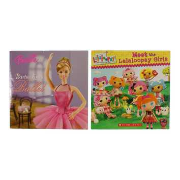 Barbie & Lalaloopsy Books Set for Sale on Swap.com