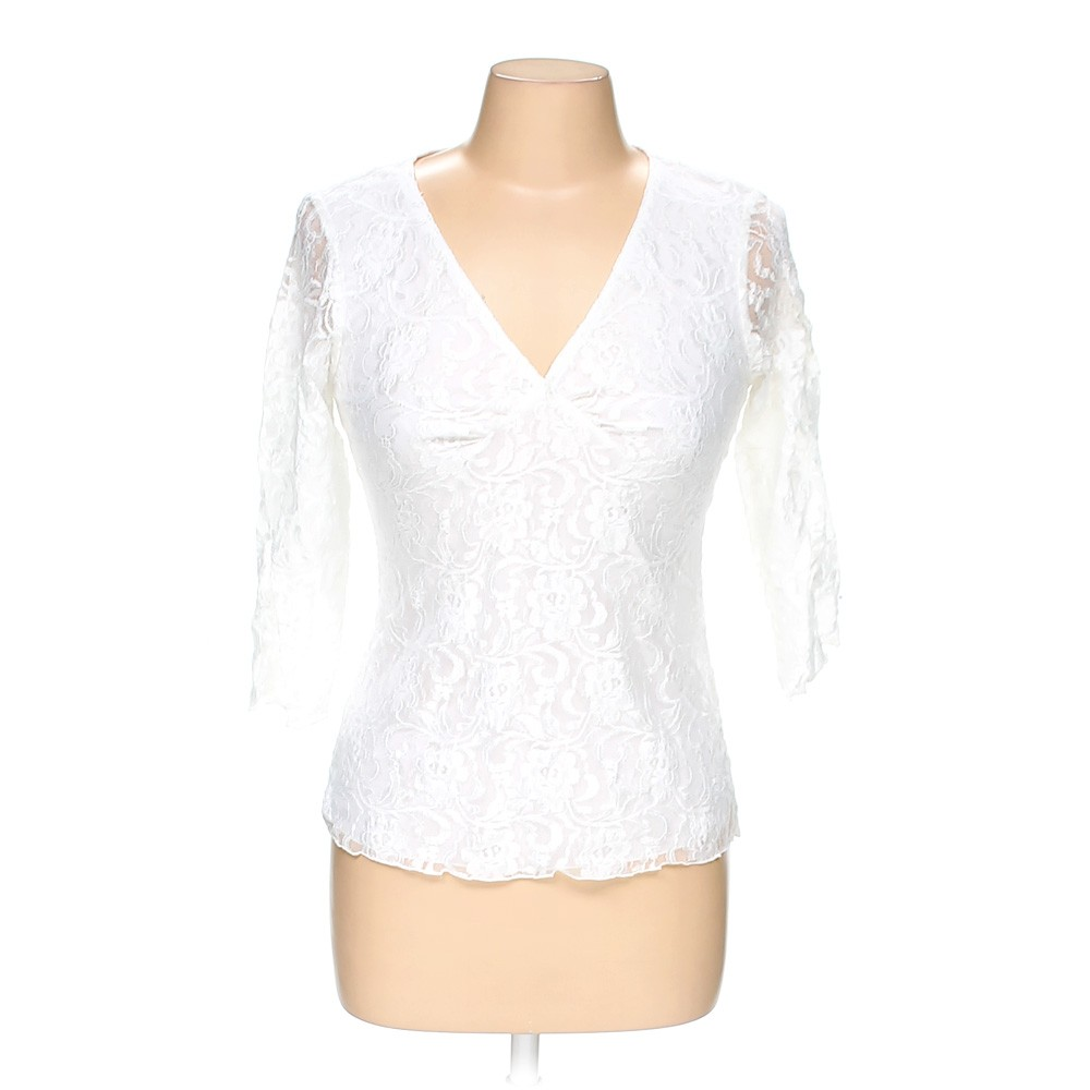 White wrapper basic shirt in size m at up to 95 off for How to hand wash white shirt