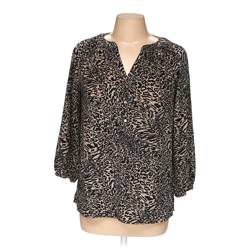 a2613c93cd66fa dana buchman blouse in size m at up to 95 off swapcom