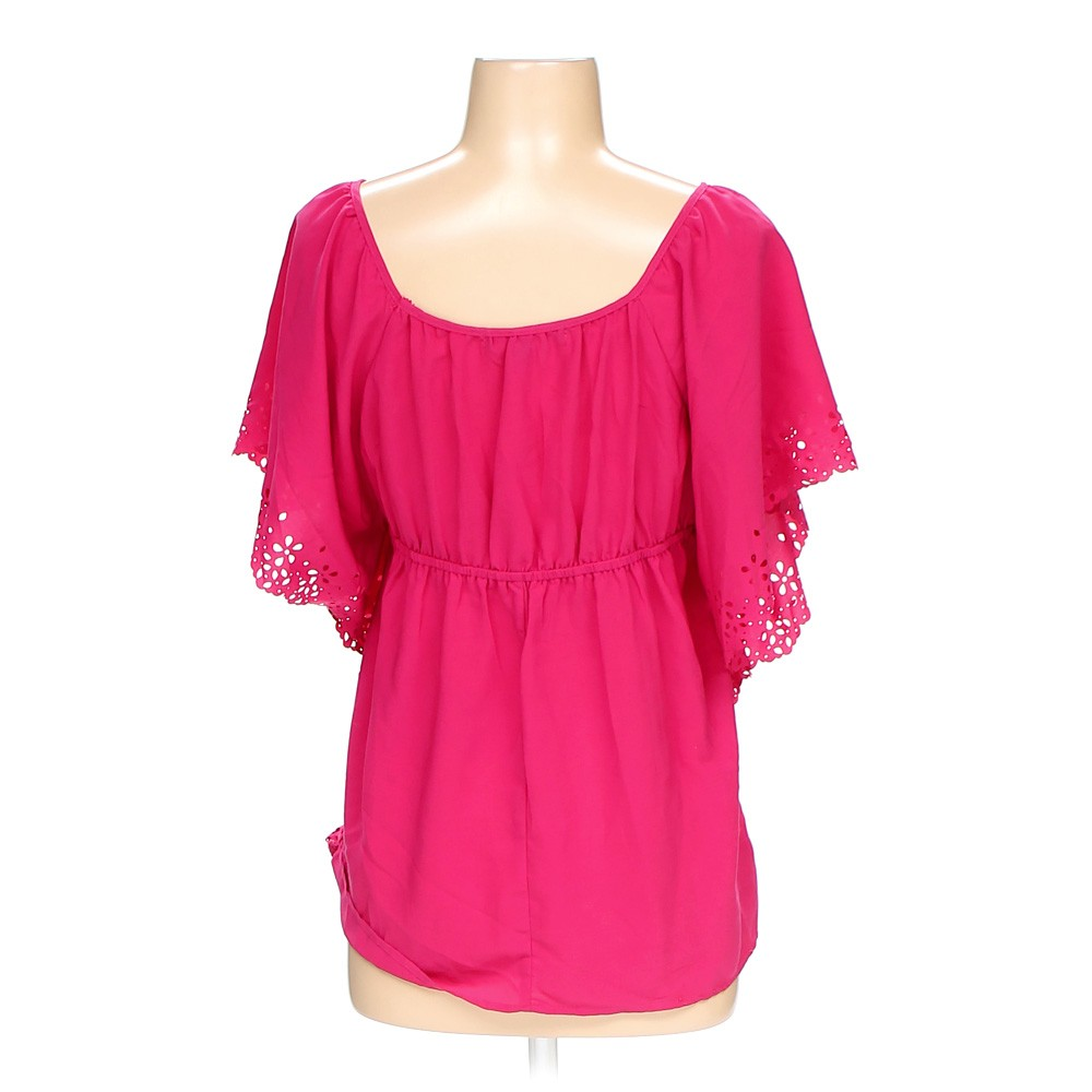 American Eagle Credit Card Login >> Pink Heart Soul Blouse in size S at up to 95% Off - Swap.com