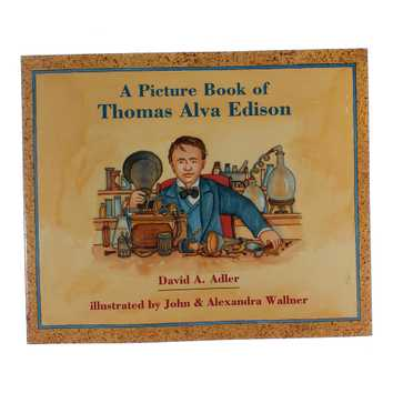 Book: A Picture Book Of Thomas Alva Edison for Sale on Swap.com