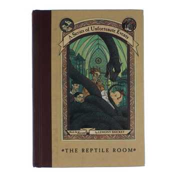 Book: A Series of Unfortunate Events - The Reptile Room for Sale on Swap.com