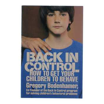 Book: Back in Control - How to Get Your Children to Behave for Sale on Swap.com