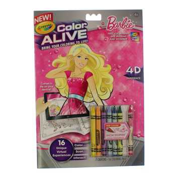 Book: Barbie Color Alive for Sale on Swap.com