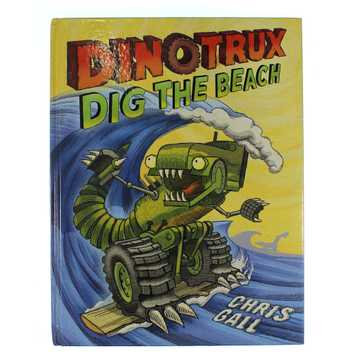 Book: Dinotrux Dig The Beach for Sale on Swap.com