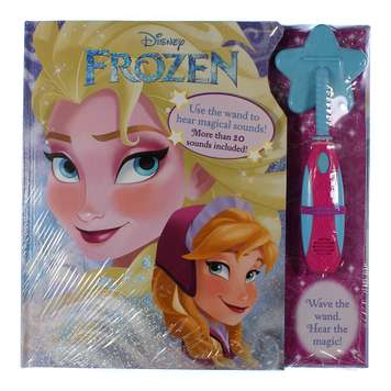 Book: Disney Frozen & Wand for Sale on Swap.com