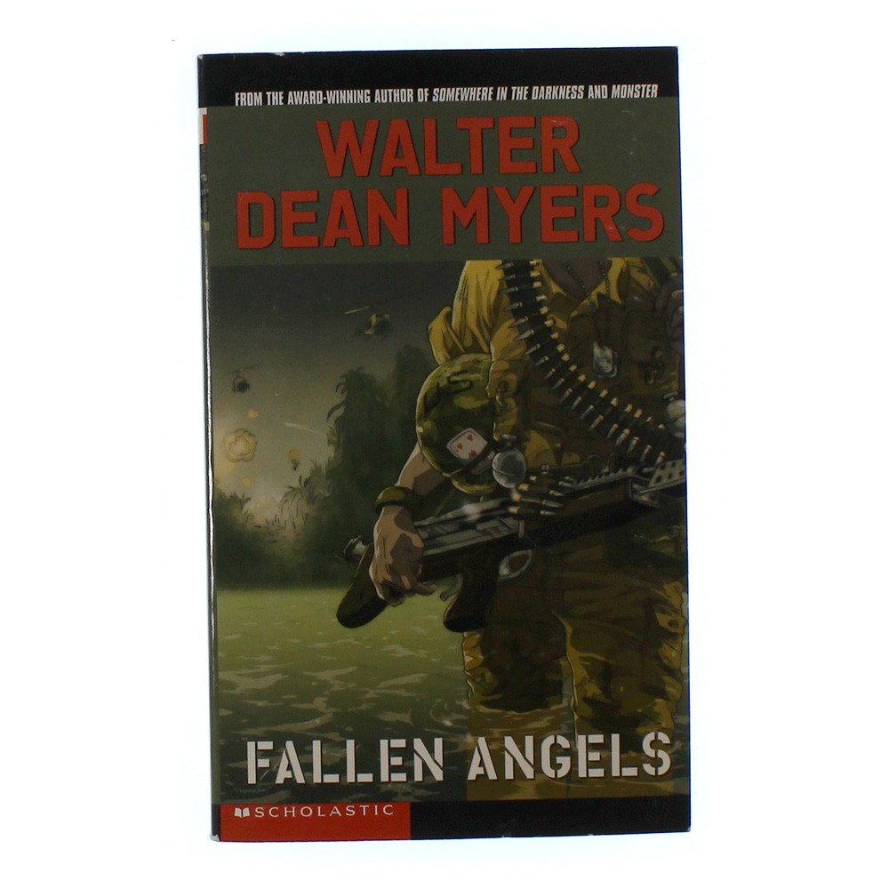 an essay on the book fallen angels by walter dean myers custom paper  an essay on the book fallen angels by walter dean myers i just easily  finished reading