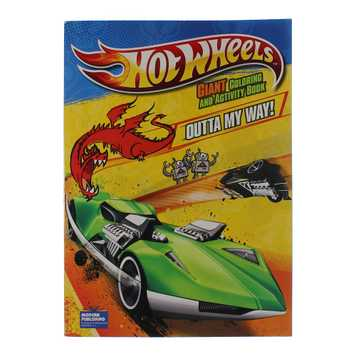 Book: Hot Wheels Giant Coloring and Activity Book for Sale on Swap.com