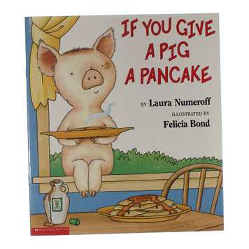 Book: If You Can Give A Pig A Pancake for Sale on Swap.com