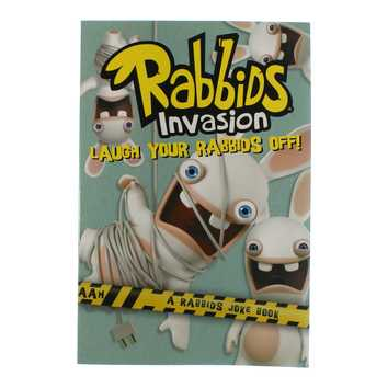 Book: Laugh Your Rabbids Off! for Sale on Swap.com