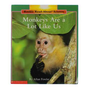 Book: Monkeys Are a Lot Like Us for Sale on Swap.com